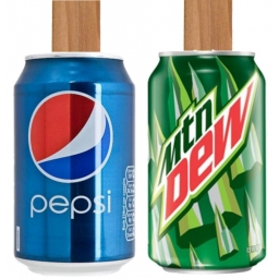 Canjo with Pepsi Colas