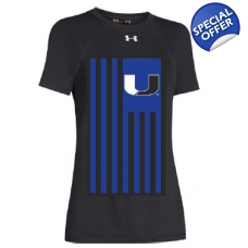UA Ladies U Flag Locker Tee