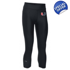 UA Women's Capri Pants CHARCOAL GREY