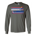 Charcoal J-Hawk Long Sleeve T-Shirt