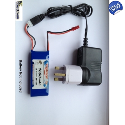MJX T23 T623 RC Helicopter UK Mains All In One Charger