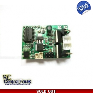 MJX T-Series T40-25 RC Helicopter PCB 2.4gHz Cir..