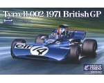 Ebbro TYRRELL 002 British GP 1971 1/20