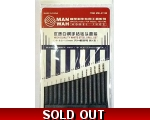 Man Wah 14 in 1 High Guality White Steel Hand Dr..
