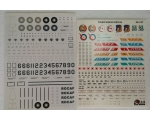 Tiger Wings  ROCAF 6707 Decals 1/72