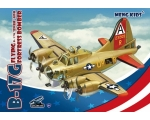 Meng Model B-17G Flying..