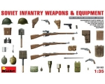 MiniArt SOVIET  INFANTRY  WEAPONS  AND  EQUIPMEN..