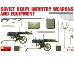 MiniArt SOVIET  HEAVY  INFANTRY  WEAPONS  AND  E..
