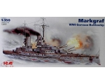 ICM  MARKGRAF, WWI GERMAN BATTLESHIP 1/350