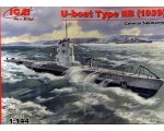 ICM U-Boat Type IIB 1939, German Submarine 1/144