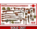 ICM WWI German Infantry Weapon and Equipment 1/35