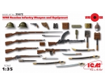 ICM WWI Russian Infantry Weapon and Equipment 1/35