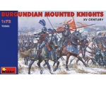 MiniArt  Burgundian Mounted Knights.XVc  1/72
