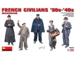 MiniArt FRENCH CIVILIANS '30s-'40s 1/35