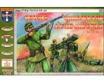 Haron Miniatures SOVIET QUAD MAXIM AA MG and cre..