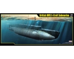 Merit British HMS X Craft Submarine 1/35