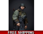 MJ Miniatures WSS Grenadier in Ardenne 1/9