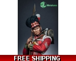 MJ Miniatures 79th Cameron Highlander,Waterloo 1..