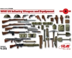 ICM WWI US Infantry Weapon and Equipment 1/35