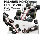 Ebbro McLAREN HONDA MP4-30 2015 Early Season 1/20