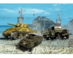 Revell US Army Vehicles WWII 1/144
