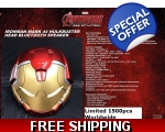 Marvel Iron Man MK 44 hulkbuster bluetooth speak..