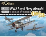 Flyhawk WWII Royal Navy Aircraft I 1/700