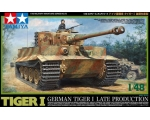 Tamiya TIGER I GERMAN TIGER I LATE PRODUCTION 1/48