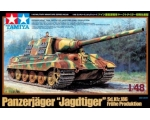 Tamiya German Heavy Tank Destroyer Jagdtiger Ear..