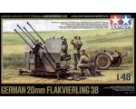 Tamiya German 20mm Flak 38 Vierlingsflak 1/48