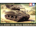Tamiya U.S. Medium Tank M4A1 Sherman 1/48