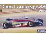 Ebbro Team Lotus Type 88 1981 1/20
