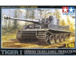 Tamiya German Tiger I Sd.Kfz. 181 Ausf E-with Me..