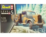 Revell German Truck Type 2,5-32 1/35