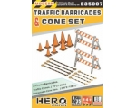 Hero Hobby A-Frame Barricades TRAFFIC CONE  75*2..