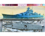 Tamiya German Battlecruiser 'Gneisenau' 1/700