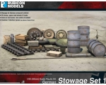 Rubicon Models German Stowage Set 1 1/56