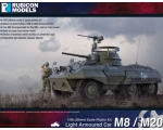 Rubicon Models M8/M20 Armoured Car 1/56