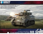 Rubicon Models M8 Scott M5A1 Stuart 1/56