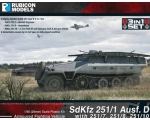 Rubicon Models SdKfz 251 Ausf. D 3-in-1 1/56