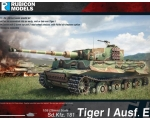 Rubicon Models Tiger I Ausf. E 1/56