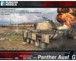 Rubicon Models WWII German Panther Ausf G 1/56