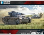 Rubicon Models Panzer III - Mid War 1/56