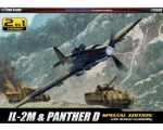 Academy 2 in 1 IL-2M & Panther D Special Edition..