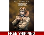 MJ Miniatures RFC Pilot in WW1 1/10