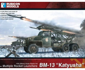 Rubicon Models28mm BM-13 Katyusha Rocket Launcher 1/56