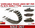 MiniArt WORKABLE TRACK LINKS SET FOR Pz.III Pz.I..