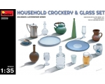MiniArt HOUSEHOLD CROCKERY & GLASS SET 1/35