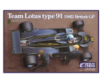 Ebbro Lotus type 91 1982 1/20