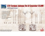 Riich Models German Antenna Set & Generator GG40..